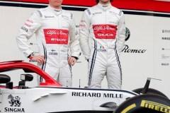 Alfa Romeo dévoile sa nouvelle voiture; Williams annonce un nouveau délai