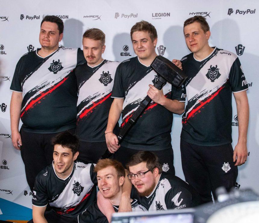 Six Invitational : les Européens de G2 Esports une nouvelle fois champions du monde
