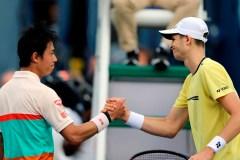 Le Polonais Hubert Hurkacz surprend le favori Kei Nishikori au tournoi de Dubai