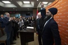 Jagmeet Singh veut augmenter la pression sur les libéraux de Justin Trudeau