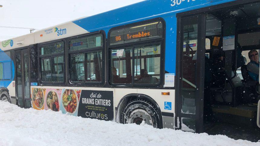 Le syndicat de la STM assure ne pas être derrière le manque d'autobus
