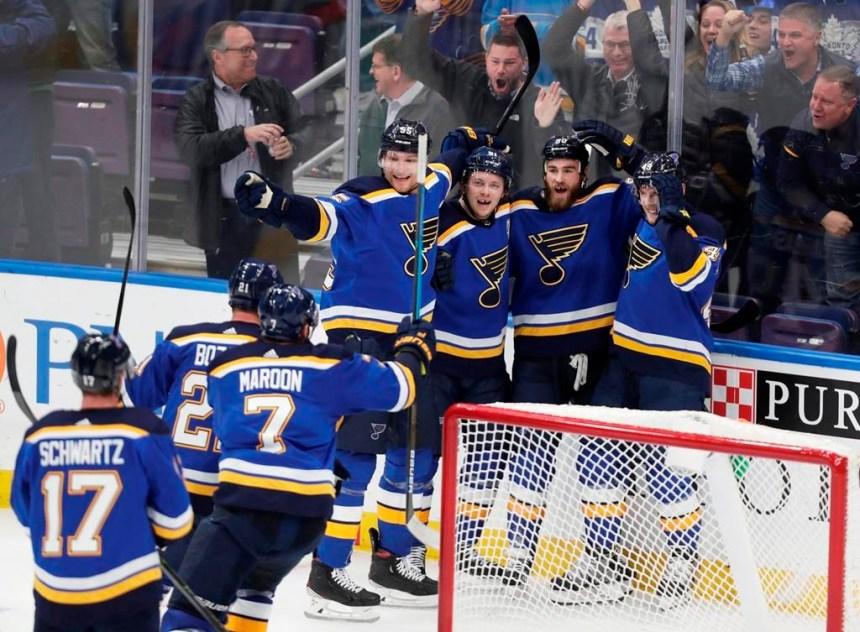 Les Blues établissent un record d'équipe avec une 11e victoire d'affilée