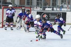 Hockey à l'honneur sur la patinoire Bleu Blanc Bouge