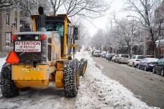 Tempête de neige: Montréal appelle les citoyens à la prudence