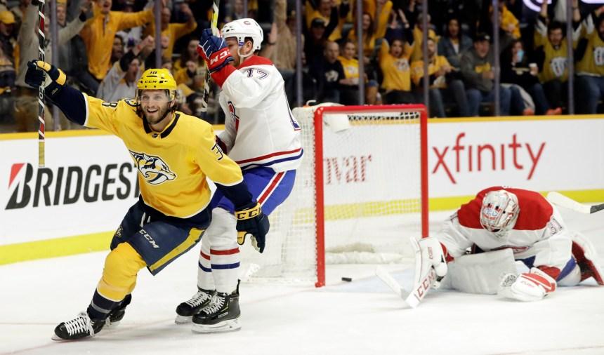 Les cinq moments marquants du match entre le Canadien et les Predators