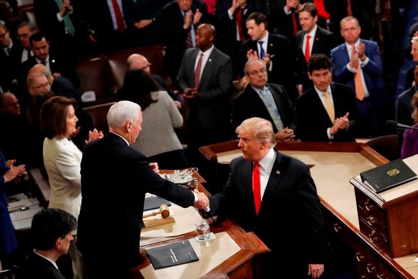 Un Trump offensif plaide l'unité