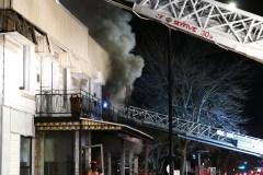 Trois familles de Montréal-Est à la rue après un incendie