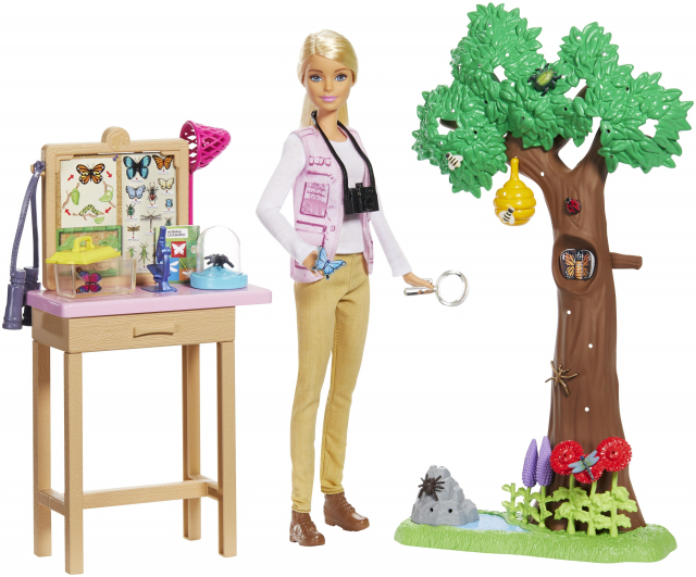 Barbie bientôt astronome, biologiste ou encore entomologiste