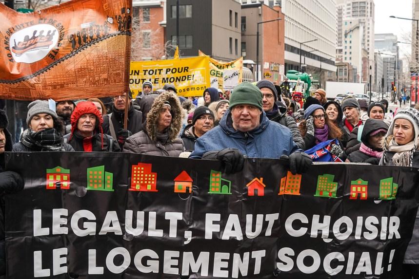 Pénurie de logements à Montréal: le FRAPRU tiendra 10 manifestations d'ici juin