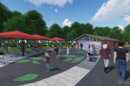 Le parc Nicolas-Viel ouvert malgré les travaux