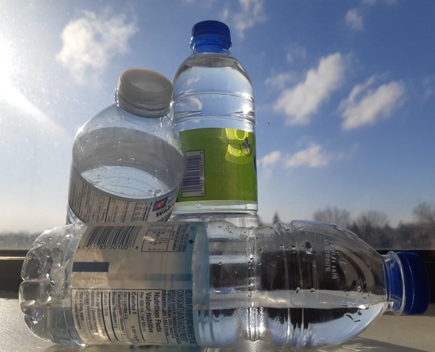 Contrer la vente de bouteilles en plastique à Verdun