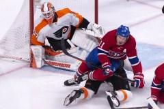Les cinq moments marquants du match entre les Flyers et le Canadien