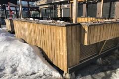 Plus de terrasses pour les commerces de Montréal-Nord