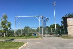 Terrain de balle rénové au stade du parc Arthur-Therrien