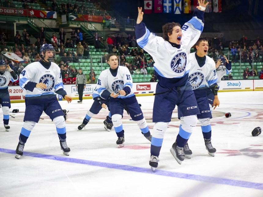 Trois Lions remportent l'or avec Équipe Québec