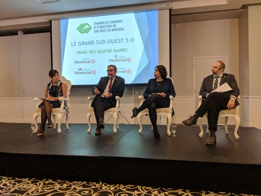 Maja Vodanovic fait le point sur le développement de l'arrondissement de Lachine