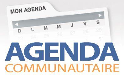 Agenda communautaire du 15 mars 2019