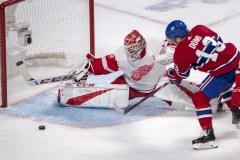 Les cinq moments marquants du match entre les Red Wings et le Canadien