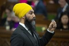 Jagmeet Singh fait son entrée à la Chambre des communes