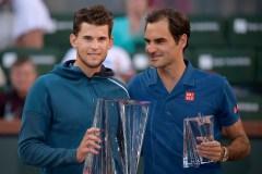 Dominic Thiem remporte l'Omnium d'Indian Wells en battant Roger Federer