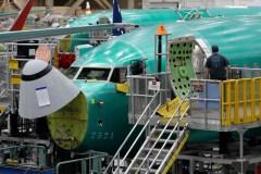 La vie continue dans l'usine du Boeing 737 MAX… en apparence
