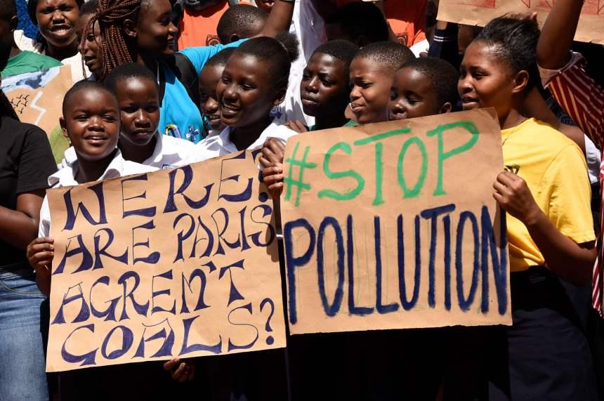 Les jeunes du monde entier dans la rue pour interpeller leurs gouvernants sur le climat