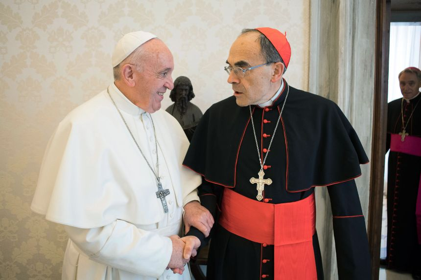 Le pape refuse la démission du cardinal Barbarin, invoquant la «présomption d'innocence»