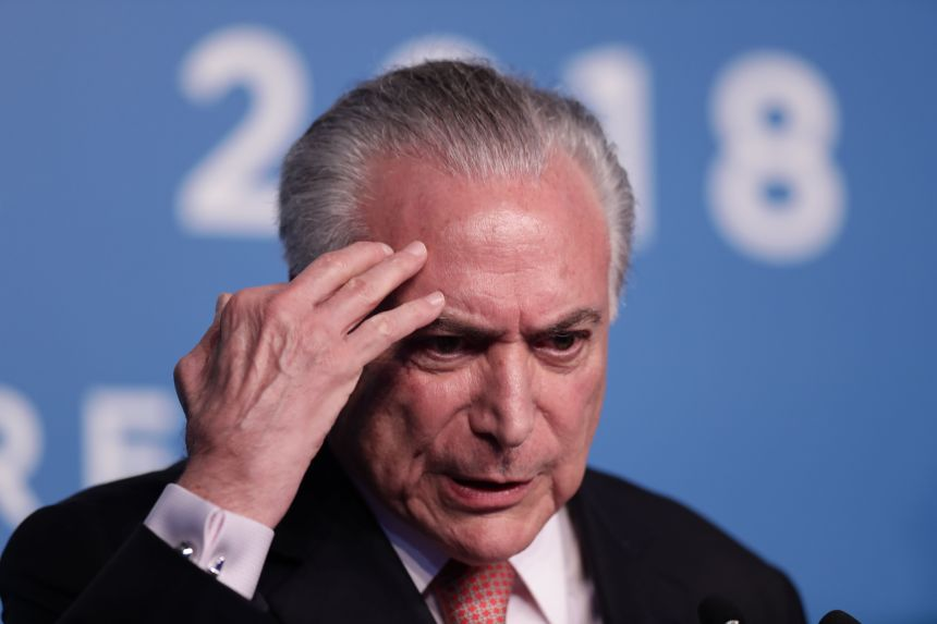 L'ancien président du Brésil, Michel Temer, arrêté