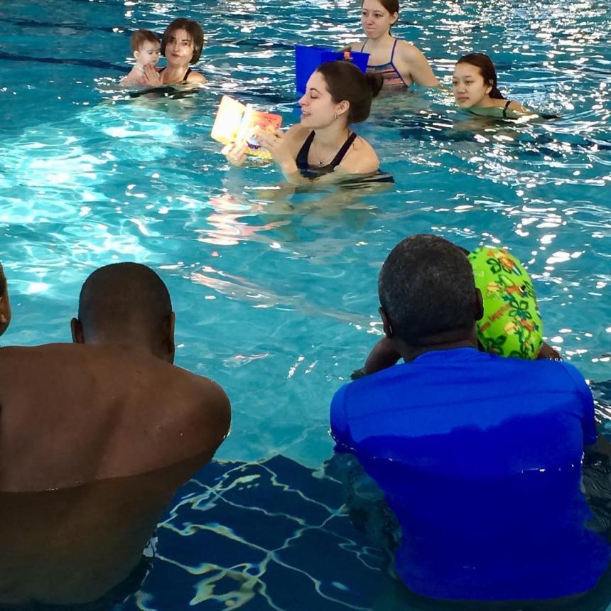 Lire dans l'eau à LaSalle