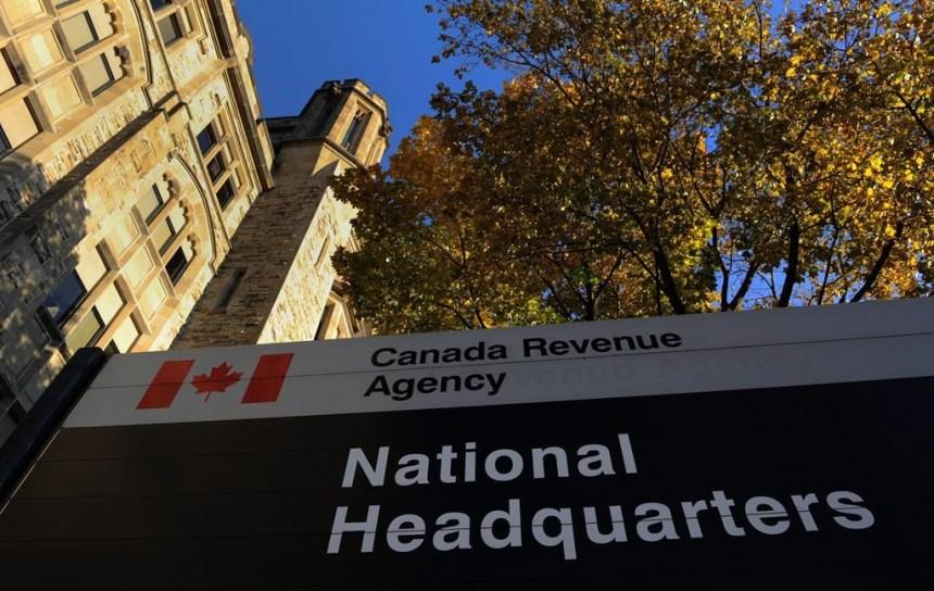 L'Agence du Revenu du Canada annule 133M $ de dettes fiscales