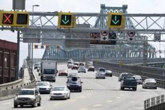Un accident provoque la fermeture du pont Jacques-Cartier à Montréal