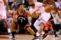 Raptors: blessé à la cheville, Kyle Lowry ne jouera pas en Oklahoma