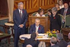 Les conservateurs du Nouveau-Brunswick déposent leur premier budget mardi