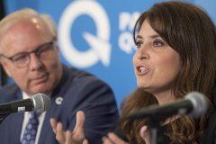 Véronique Hivon revient sur son refus de remplacer Lisée au PQ