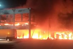 Les essais de la série MotoE sont interrompus par un important incendie