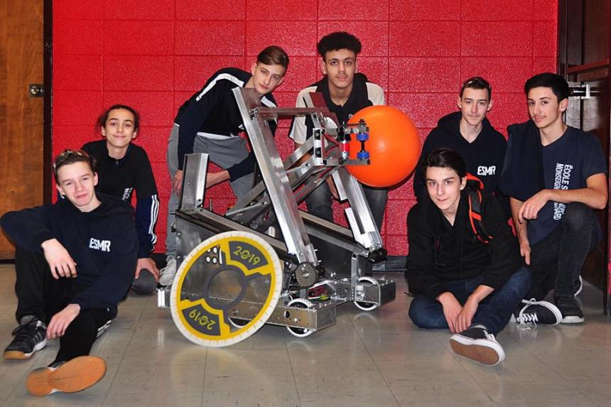 L'école secondaire Monseigneur-Richard est prête pour la FIRST Robotics Competition