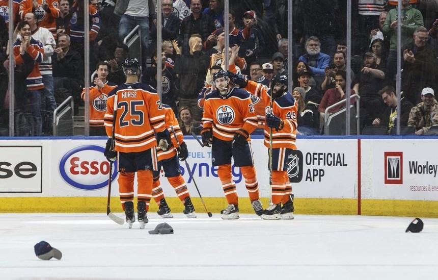 Tour du chapeau pour Nugent-Hopkins et Draisaitl dans un gain des Oilers