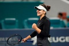 La Canadienne Bianca Andreescu reprend ses activités sur le court de tennis