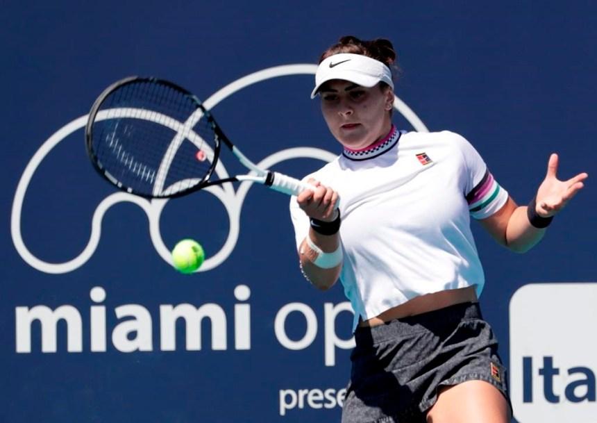 Omnium de Miami: Andreescu et Auger-Aliassime victorieux à nouveau