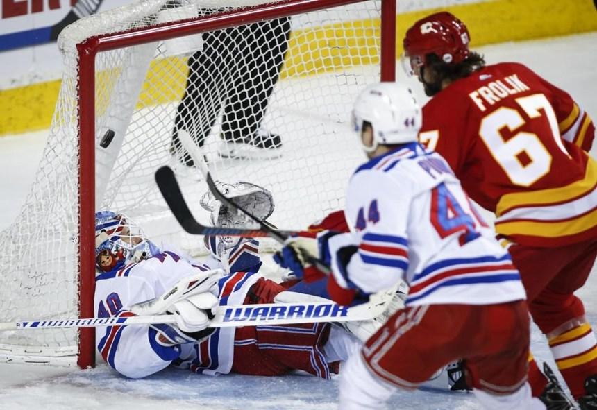 Tkachuk amasse cinq points et permet aux Flames de battre les Rangers 5-1
