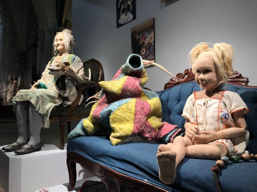 De la fibre à la marionnette au Musée des maîtres et artisans