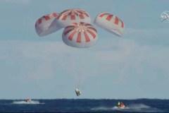La capsule SpaceX a quitté la station spatiale et a amerri avec succès vendredi