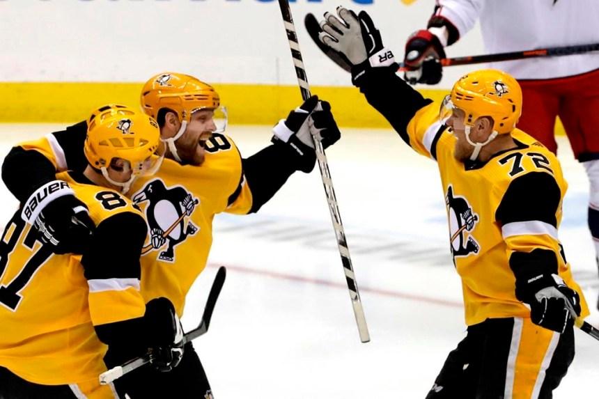 Un troisième gain de suite pour les Penguins, 3-0 contre Columbus