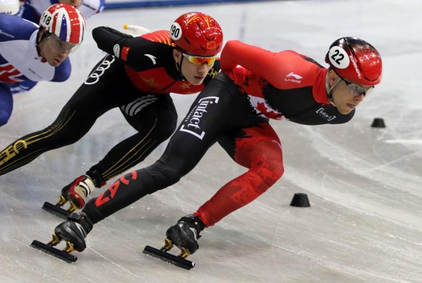 Fin de saison décevante pour le patineur pointelier Pascal Dion