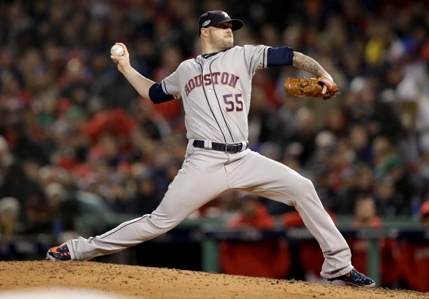 Les Astros consentent 20,4 millions $ US sur trois saisons à Ryan Pressly