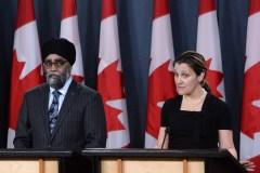 Les missions du Canada en Ukraine et au Moyen-Orient sont prolongées