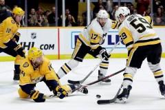 Les Penguins viennent à bout des Predators 2-1 en tirs de barrage