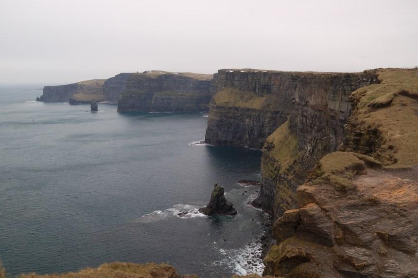 Trois randonnées  d'une journée en Irlande