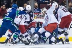 Bobrovsky et Dubois mènent les Blue Jackets vers un blanchissage devant les Canucks