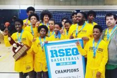 Les jeunes basketteurs de Jean-Grou remportent le championnat régional
